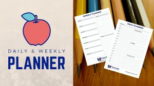 daily weekly school planner